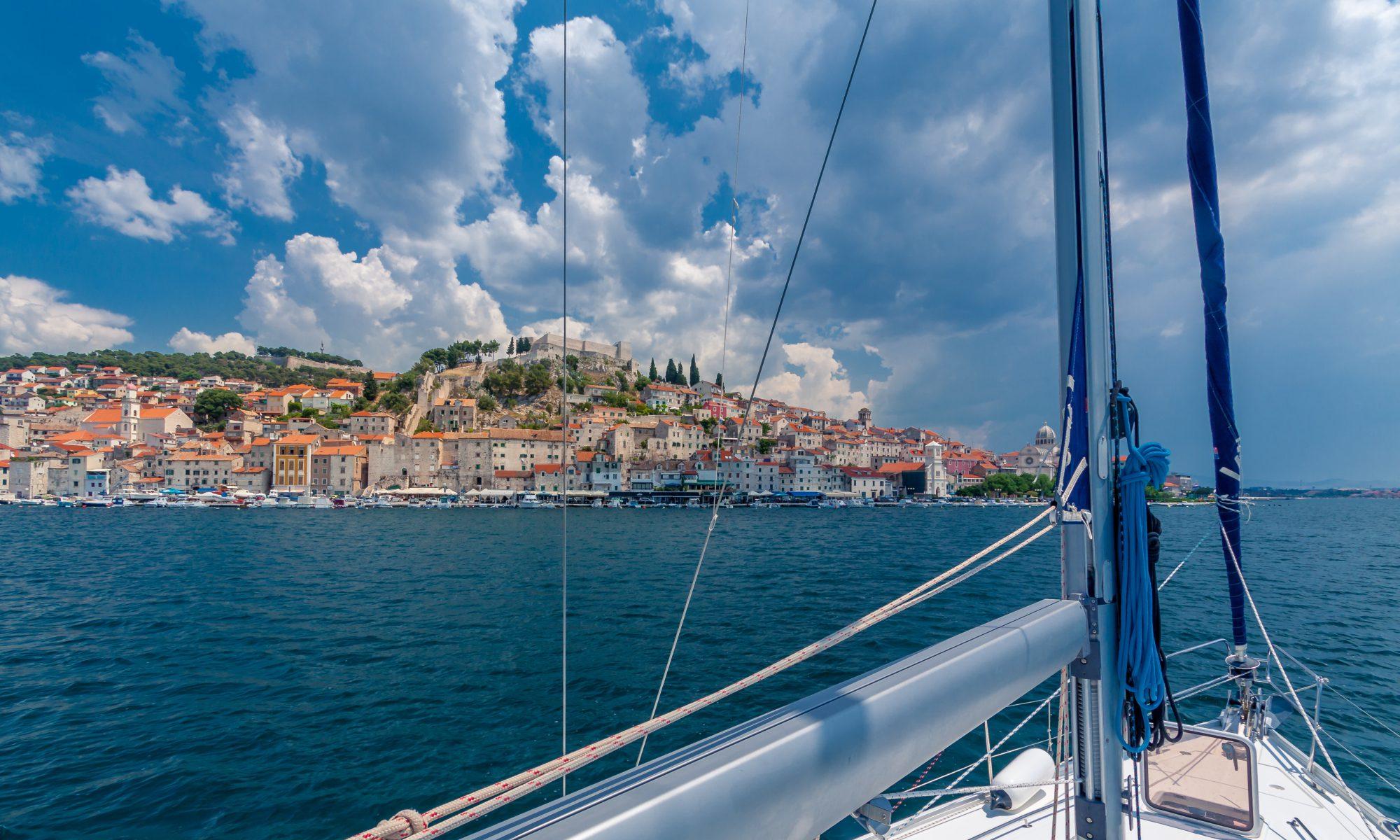 Šibenik, Croatia by boat