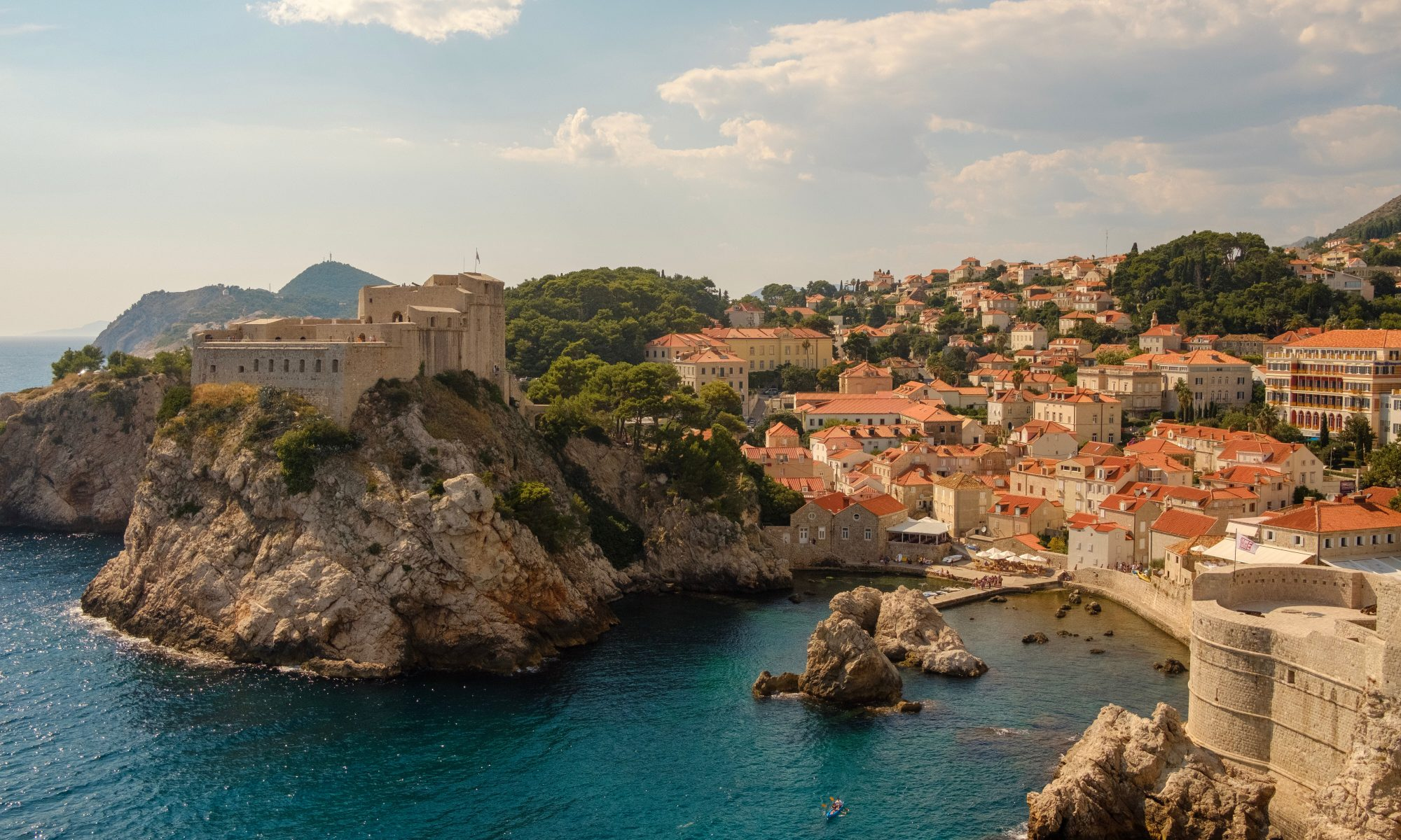 Scenic view from Dubrovnik, Croatia